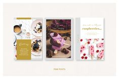 Ellen Wild / Pinterest Posts by Mirazz on @creativemarket Indesign Templates, Wordpress Template, Wordpress Theme, Layer Pictures, Graphic Design Studios, Creative Business, Color Change, Colorful Backgrounds
