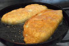 prajire langosi ca la langoserie Cornbread, Pizza, Ethnic Recipes, Millet Bread, Corn Bread