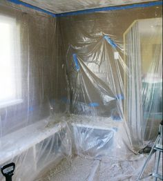How To Remove A Popcorn Ceiling | My Beautiful Mess How To Remove A Popcorn  Ceiling
