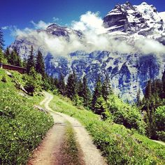 Gimmelwald, Switzerland :: in the Swiss Alps :: must go see more of Switzerland