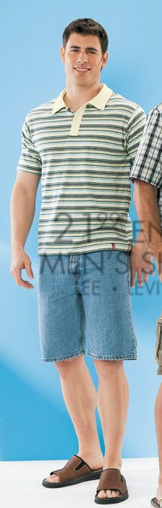 Lee Pappas for Mervyn's (2006) #LeePappas #malemodel #model #StarsModels #StarsModelMgmt #Mervyns