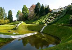 Garden of Cosmic Speculation,  Portrack House, Dumfries, South West Scotland