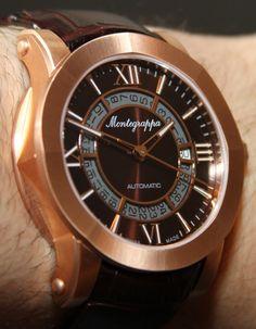 Montegrappa Nero Uno Watch Set Review