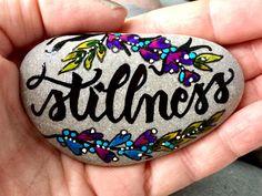 Stillness in my Etsy shop https://www.etsy.com/listing/503915227/stillness-painted-rocks-painted-stones