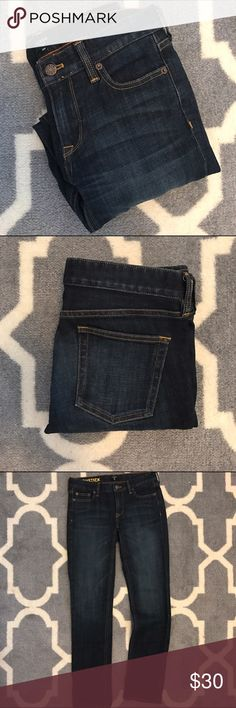 J.Crew bootcut jeans In great condition. Size 25/2 short (fits like a 0 short) J. Crew Jeans Boot Cut