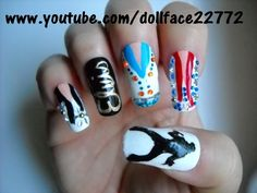 Elvis Presley Inspired - Nail Art Gallery by NAILS Magazine