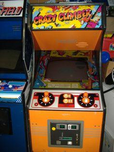 crazy climber arcade game what a fun machine i want it !!