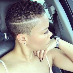 Natural Short Hair Ideas for Cute Ladies – The UnderCut – Tapered Hair Cut Short Natural Haircuts, Tapered Natural Hair, Short Natural Styles, Big Chop Natural Hair, My Hairstyle, Girl Hairstyles, Short Afro Hairstyles, Black Girl Short Hairstyles, Short Undercut