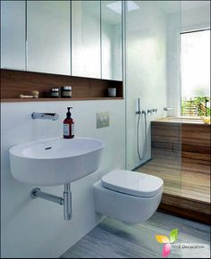 Modern Bathrooms And Its Accessories  Well Decoration