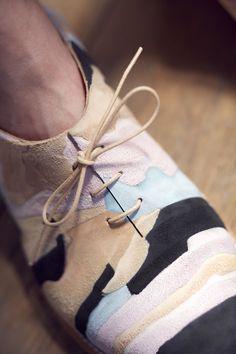 Barbora Veselá: Geology of Shoes
