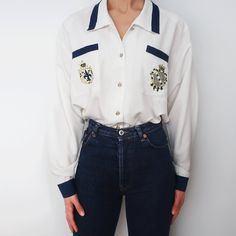 ae6bcceb90d6e1 10 Best Navy blouse images