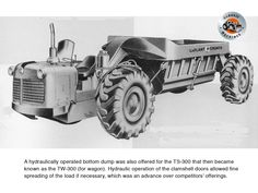LaPlant-Choate's efforts are responsible for a lot of the innovations found in earth-moving equipment today,particularly in the field of hydraulics.