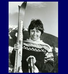 Nancy Greene is an Olympic athlete who won both a gold medal (giant slalom) and a silver (slalom) at the 1968 Olympics in Grenoble, France. This talented skiier was named Canada's female athlete of the 20th century. In January 2009 she was appointed to the Canadian Senate 1968 Olympics, Canadian History, Olympic Athletes, I Remember When, Women In History, Female Athletes, Olympic Games, Change The World, Strong Women