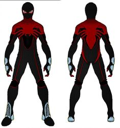 Spider-man suit redesign 1 by N-McKay Spiderman Drawing, Spiderman Art, Amazing Spiderman, Spiderman Suits, Scarlet Spider, Black Anime Characters, Superhero Design, Fanart, Comic Styles