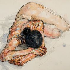 Watercolor painting by Sylvie Guillot !  . . . . . . #arts_gate @watercolor_arte