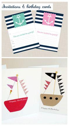 Inspired Celebration: Nautical Children's Party Inspiration