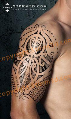 tribal-maori-tattoo-shoulder-designs