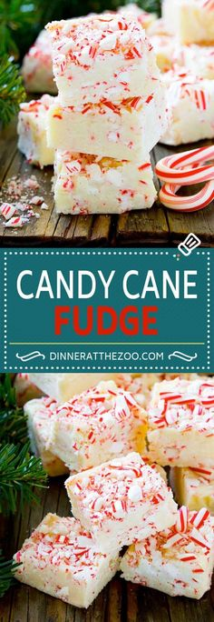 Candy Cane Fudge | Christmas Fudge | Peppermint Fudge | Christmas Candy
