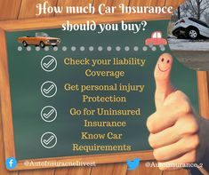 Car Insurance buying may be complicated and expensive.How Much Car Insurance Should you Buy to get lowest premium which coverage types & liablilty best for you. Low Car Insurance, Group Insurance, Auto Insurance Companies, Personal Injury Protection, Safety Classes, Auto News, Be Yourself Quotes, Helpful Hints, How To Find Out