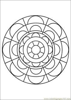 free printable coloring image Mandalas 29