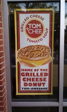 "Tom + Chee  you gotta try the ""armagoetta"" and a grilled donut dessert"