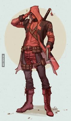Assassin Deadpool