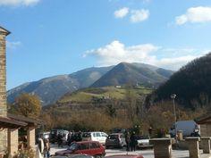 Monte Nerone con la sua antenna