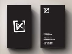 Create a new logo for me as a filmmaker/ videoartist : Damian Karsznia by yarsdesign