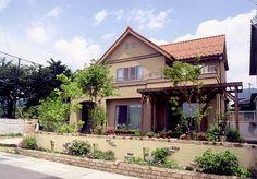 ナチュラルな庭づくりの施工例 長野市エクステリア ガーデンファクトリー