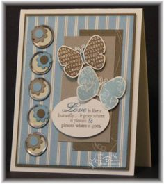 Butterfly Prints TSSC132 by stampercamper - Cards and Paper Crafts at Splitcoaststampers