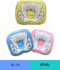 4d764980ffe Bear Pattern Newborn Infant Baby Pillow Cushion Pad Prevent Flat Head  Support