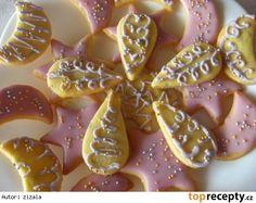 Levandulové cukroví Panna Cotta, Sugar, Cookies, Ethnic Recipes, Desserts, Food, Crack Crackers, Tailgate Desserts, Biscuits
