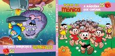 Taís Paranhos: Livros da Turma da Mônica no McDonalds