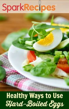 Need a healthier way to eat leftover Easter eggs? They find new life in salads, for breakfast or any meal!