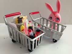 How to make a LPS / Doll shopping cart - YouTube