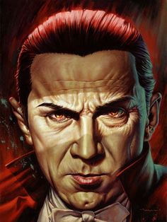 Bela Lugosi Dracula by Jason Edmiston