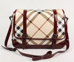 Burberry.......love - such a cute bag
