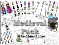 Educational Freebies: Three different Medieval Printable Packs