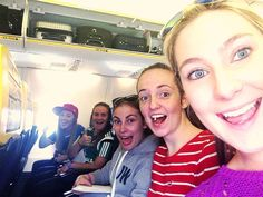 on the plane to Spain :D