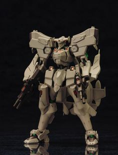 Standing at approximately **5.3 inches tall,** this **plastic model kit** is used to build a **1/144 scale model** of the **F-15 ACTV Active Eagle,** one of the strongest Tactical Surface Fighters in the visual novel series ***Muv Luv!***  This kit includes **over 200 PS, PE, ABS,** and **non-phthalate PVC parts** to build the model, as well as **two AMWS-21 combat systems, a thruster unit,** an...