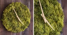 CONTEMPORIST: This Wall Clock Is Covered In Icelandic Moss http://www.davincilifestyle.com/contemporist-this-wall-clock-is-covered-in-icelandic-moss/    This Wall Clock Is Covered In Icelandic Moss | CONTEMPORIST              				           			    German designer Tobias Mittmann, of design studio HerrMittmann, has created a modern wall clock covered in Icelandic moss, that makes it easy to display both the time and your love for nature.     Lush, soft, and with a range o