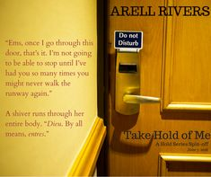 Book Blitz + Excerpt Tour: Take Hold of Me by Arell Rivers