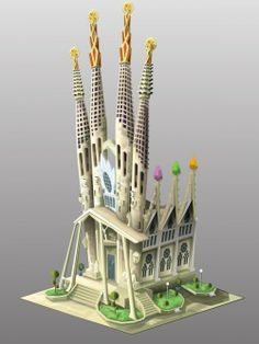 (6) Sagrada Familia Cathedral