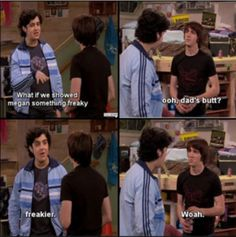 Tv Shows Funny, Best Tv Shows, Funny Cartoons, Funny Comics, Josh Peck, Anxiety Cat, Beloved Movie, Right In The Childhood, Drake And Josh