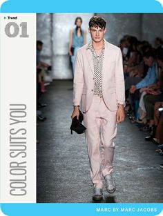 GQ's Spring Trend Report 2014: Color Suits You