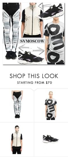 """""""SVM2"""" by andrea2andare ❤ liked on Polyvore featuring Hood by Air, Comme des Garçons Homme, Isaac Sellam, Y-3, men's fashion and menswear"""
