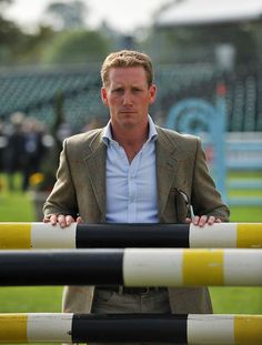 Eventer Oliver Townend looking dapper at Burghley 2010. www.nicomorgan.com