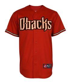 Ikes Baseball Arizona Diamondbacks 2013 Alternate Brick Replica MLB Jersey