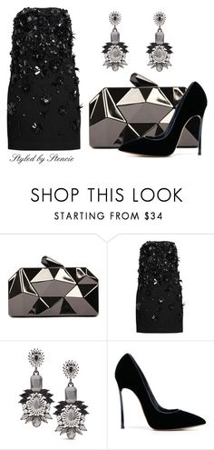 """""""The Romantics"""" by stencie on Polyvore featuring WithChic, MSGM, Chico's and Casadei"""