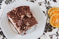 Torta mousse de limão com chocolate